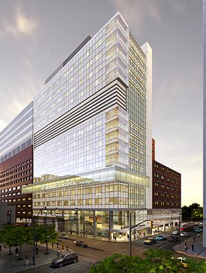 Peter Gilgan Patient Care Tower rendering