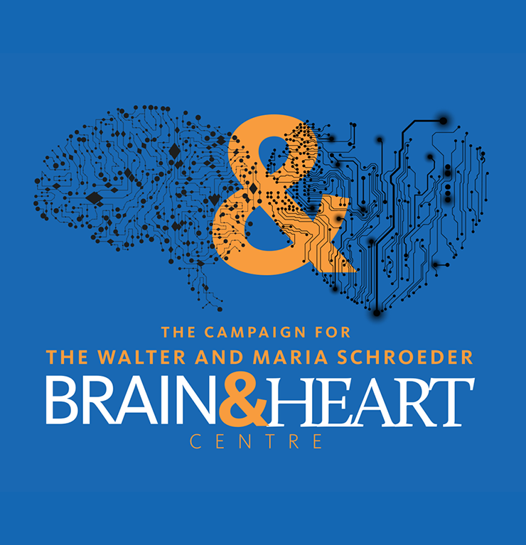 The campaign for the Walter and Maria Schroeder Brain and Heart Centre