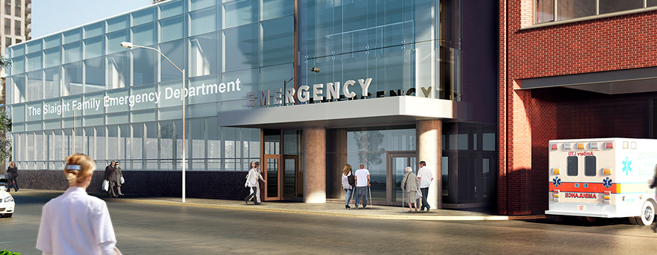 The Slaight Family Emergency Department